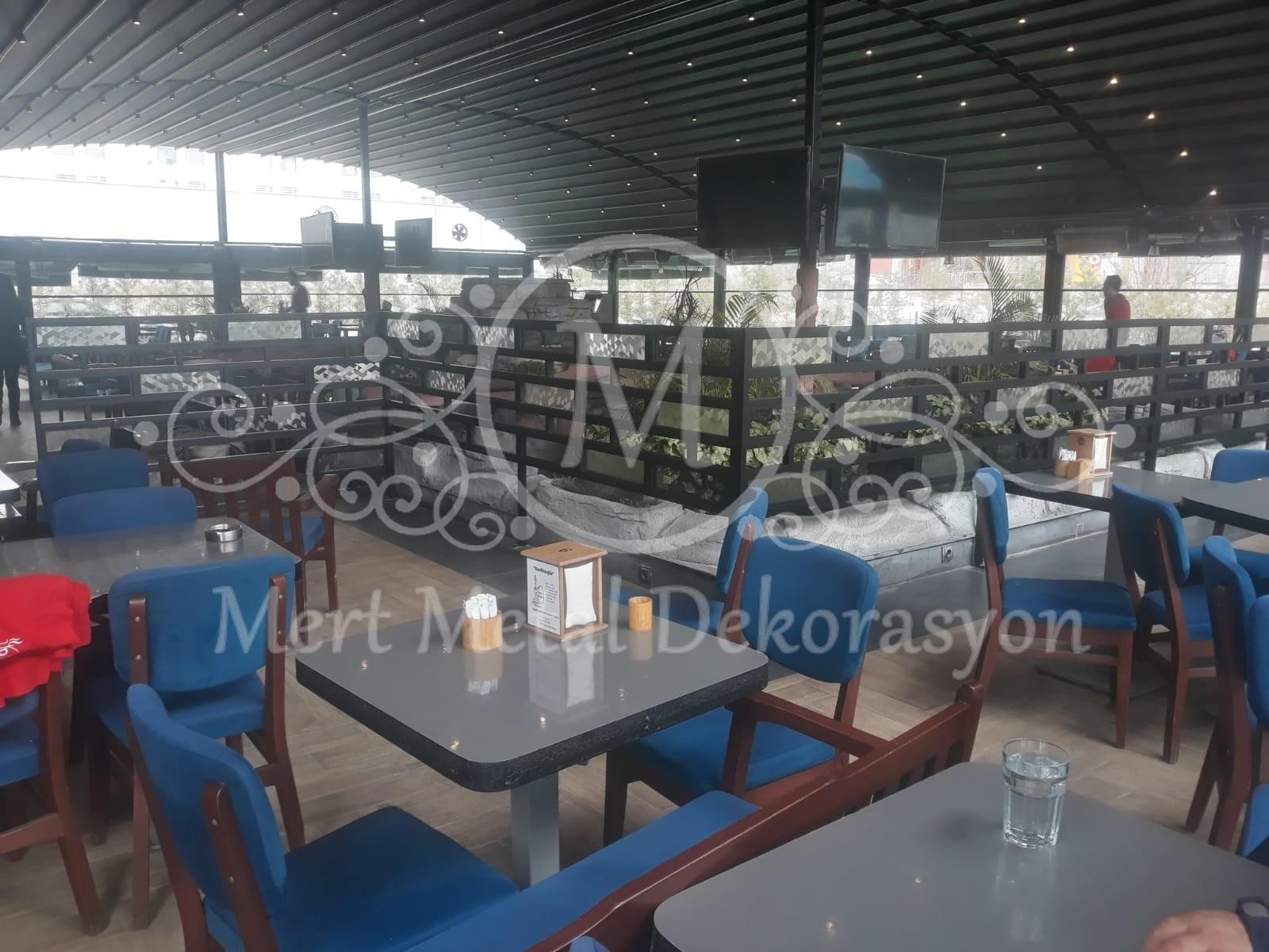 Kırıkkale Riva Lounge coffee - Dekoratif Metal Seperatör (10)