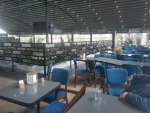 Kırıkkale Riva Lounge coffee - Dekoratif Metal Seperatör (8)
